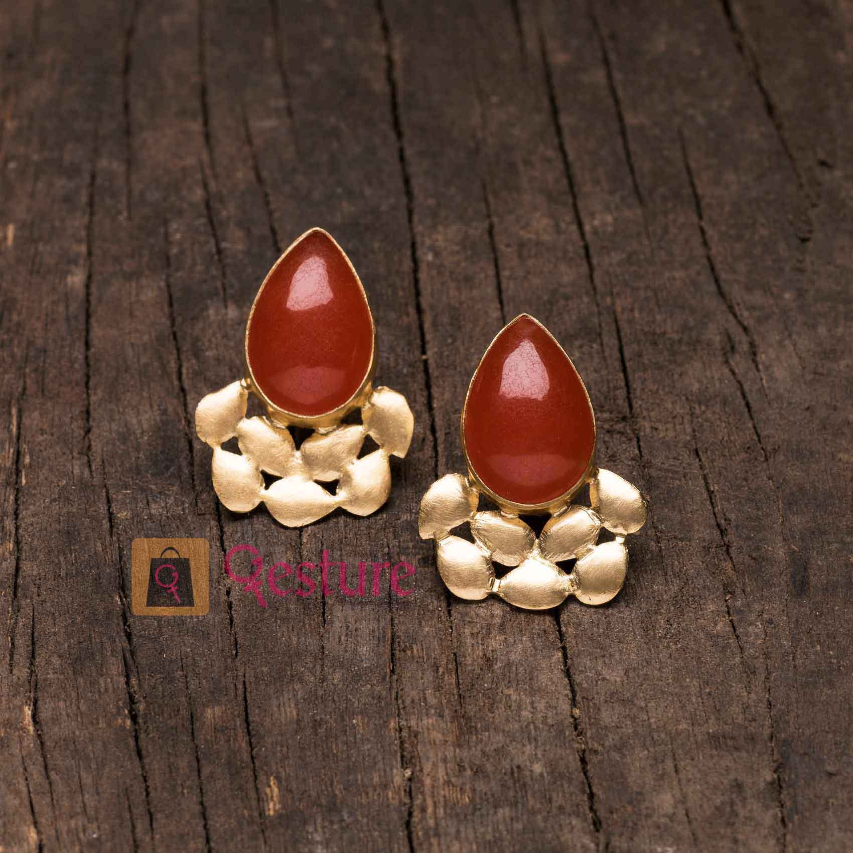 Geometry Stud Stud  Earrings