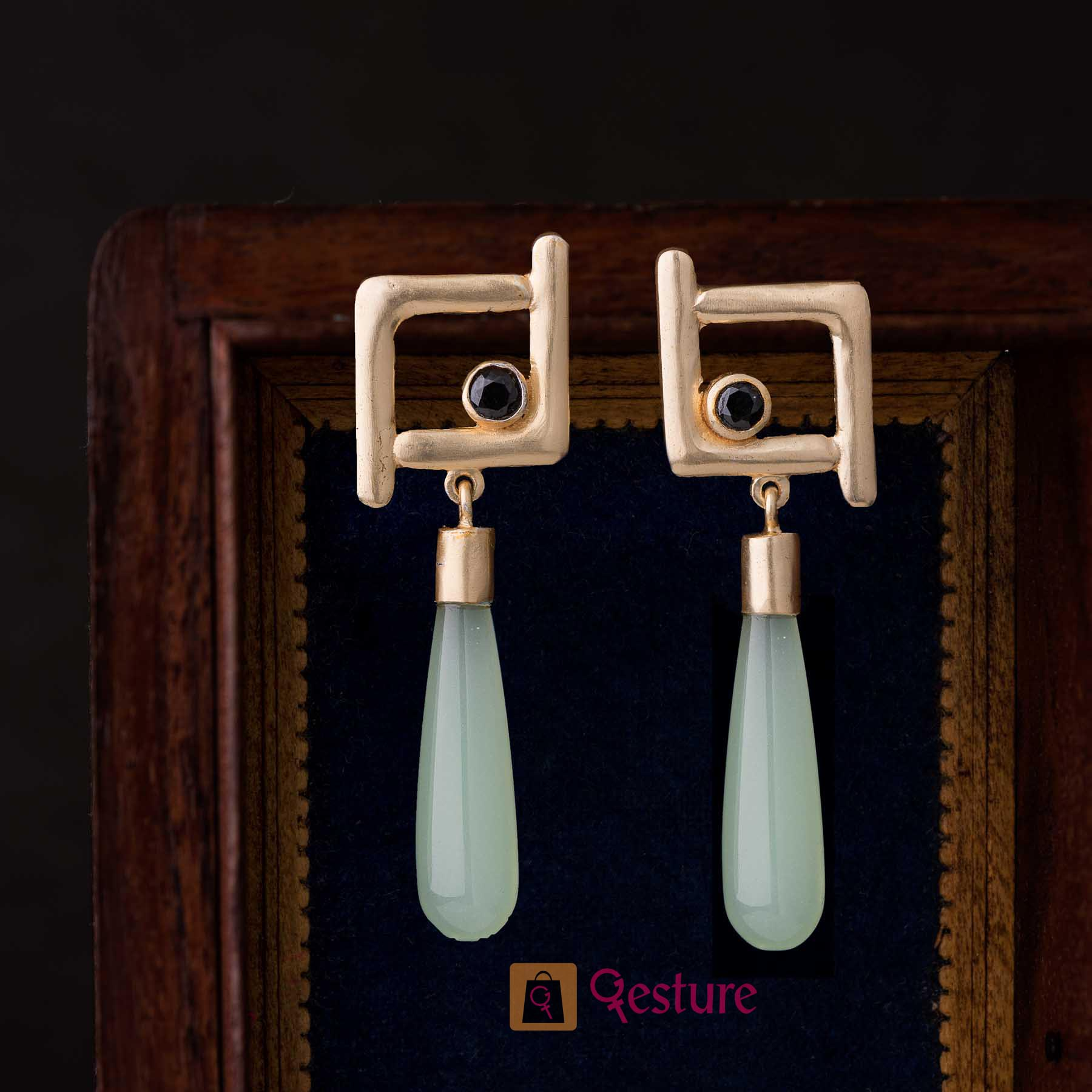 Droplet Drop Earrings